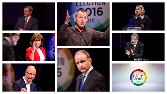 Smaller parties do well in seven-way leaders' debate