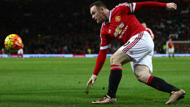 Wayne Rooney will not play in the last-16 first-leg meeting with FC Midtjylland