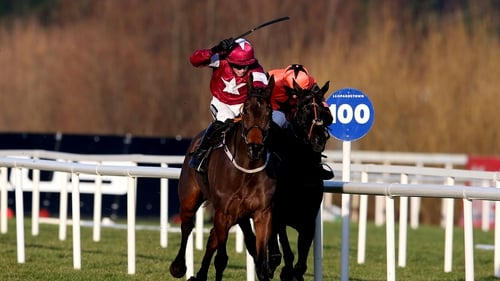 Lieutenant Colonel and Bryan Cooper winning the Christmas Hurdle at Cheltenham in 2014