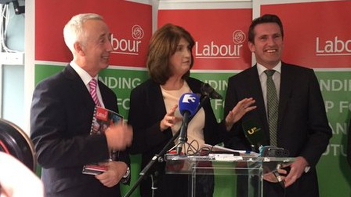 On the campaign trail with Joan Burton