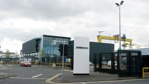 Bombardier's site in Belfast where hundreds of jobs will be lost
