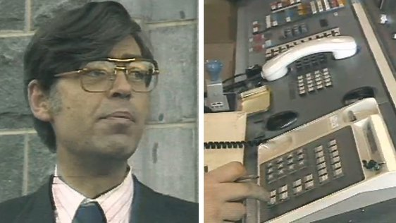 Alan Dukes Opens Garda Communications Network (1986)