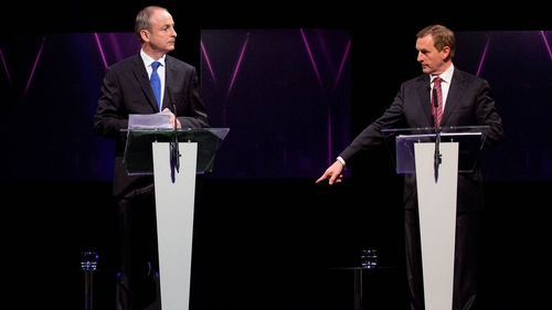 Micheál Martin and Enda Kenny will hold talks with all interested in forming a government