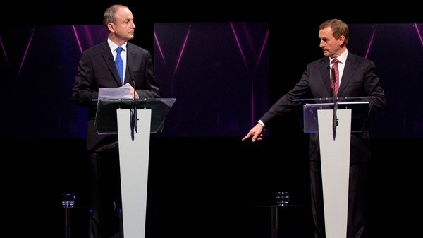 Could Fianna Fáil and Fine Gael potentially be sharing power within weeks?