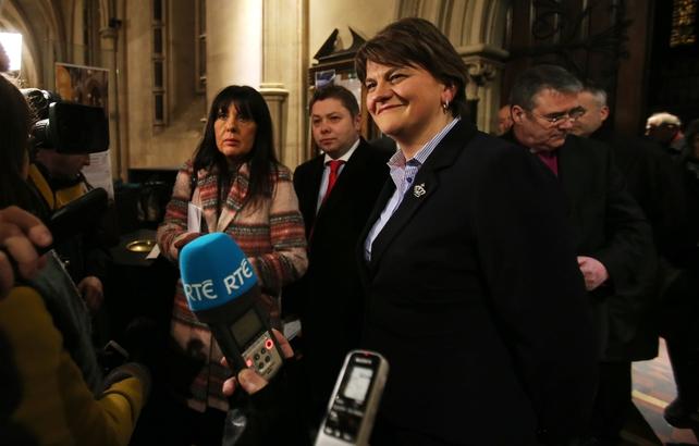 Arlene Foster became DUP leader in December