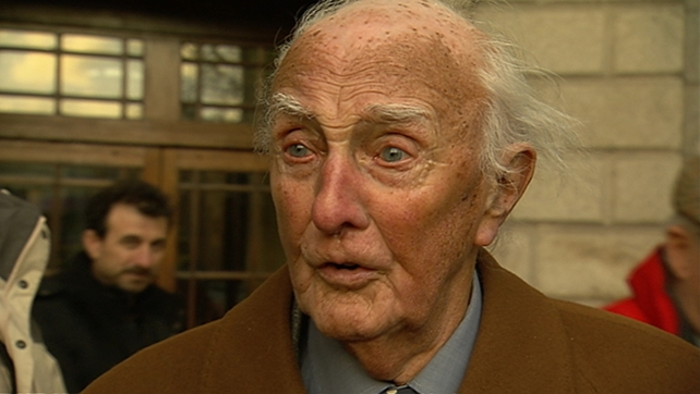 Mr Redmond died at Connolly Hospital Blanchardstown at the age of 92