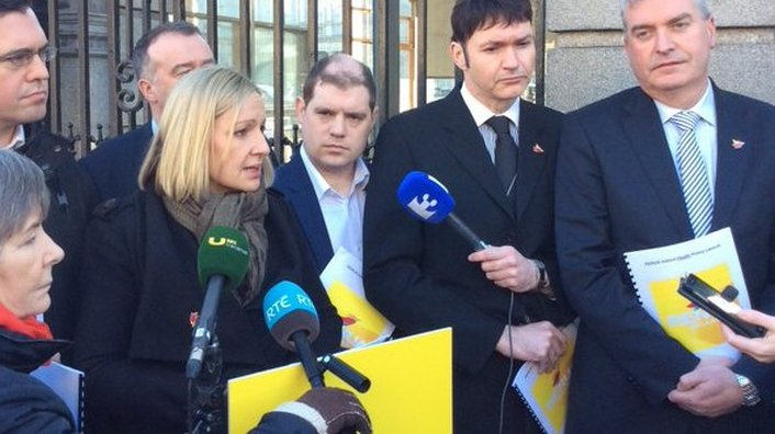 On the campaign trail with Lucinda Creighton