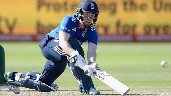 Eoin Morgan during the ODI between South Africa and England