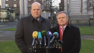 Ministers Noonan and Howlin said  they want Britain to remain within the EU