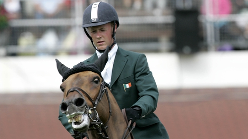 Anthony Condon helped Ireland to a jump-off victory