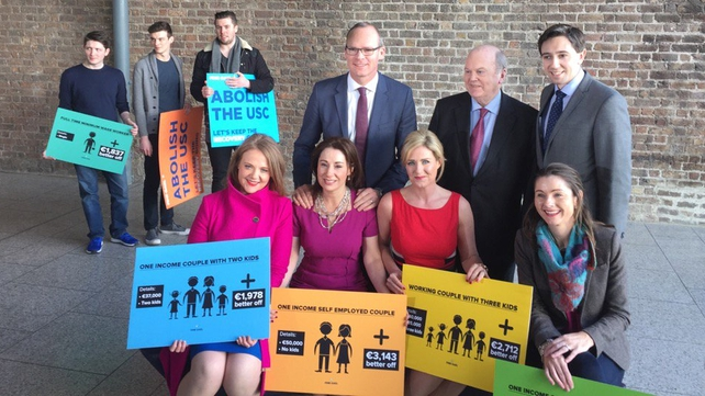Fine Gael this afternoon launched an online tax calculator