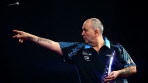 Phil Taylor was back on form at the 3Arena