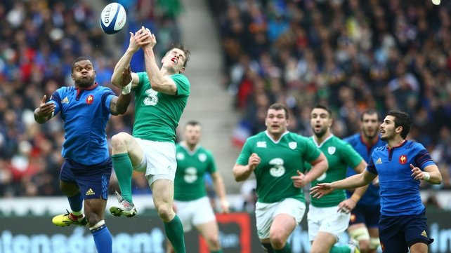 Ireland went down 10-9 to France