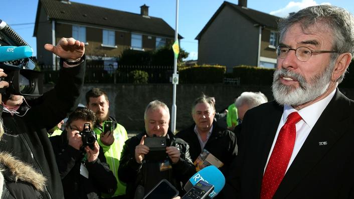 Sinn Féin on the campaign trail