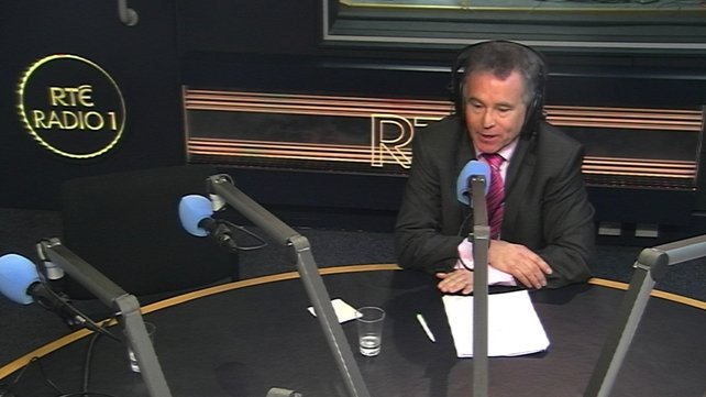Sean Fleming debated the economy with Michael Noonan on RTÉ's Morning Ireland