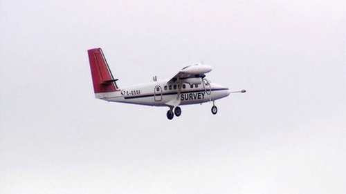 The survey aircraft flies at 60 metres in rural areas and uses special equipment to scan the surface (Pic: Tellus)