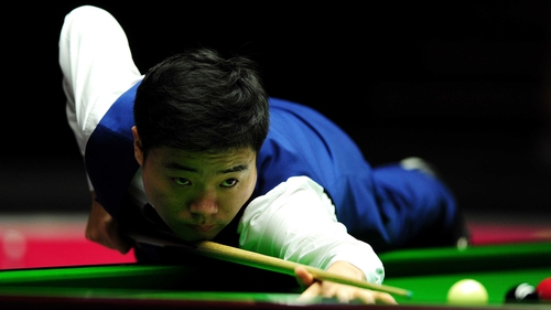 Ding Junhui compiled the sixth maximum of his career