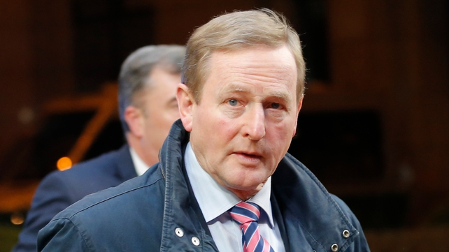 Enda Kenny said that 'no Irish worker' living in the UK would be affected by any of the provisions of the deal
