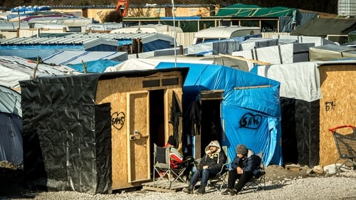 An estimated 4,000 migrants and refugees are currently based within the sprawling Jungle