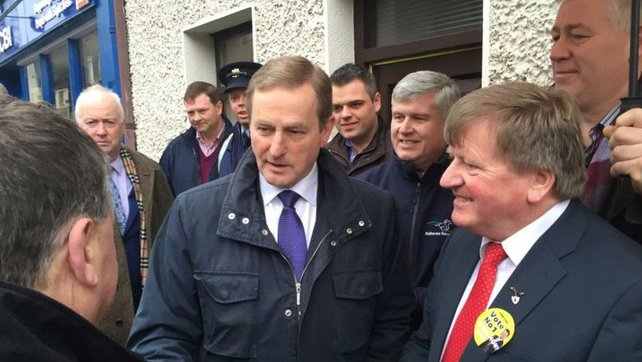Enda Kenny said it was time for people to decide about the future direction of the country