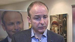"Speaking in Castlebar, Micheál Martin described the coalition as a ""very Dublin-centric Government"""