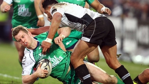 Healy is close to a return for Connacht, but will not feature against Zebre