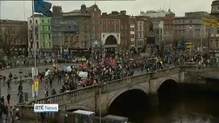 Thousands of people have taken part in a Right2Change march