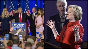 Donald Trump and Hillary Clinton solidified their positions as the front-runners to win their parties' respective nominations