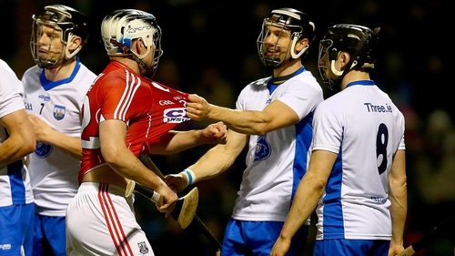 Waterford's win over Cork on Saturday night was a fiery affair, with two players sent off