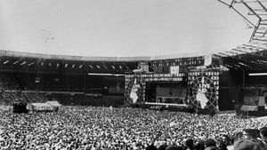 Live Aid at Wembley Stadium in July 1985
