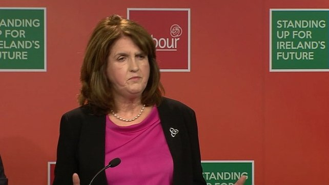 Speaking at a press conference this afternoon, Joan Burton said Sinn Féin and the Social Democrats would do little or nothing for workers