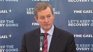 Enda Kenny accused Fianna Fáil of 'hype' and 'false figures'