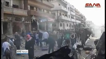 IS claims responsibility for multiple bomb attacks in Syria
