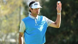 Bubba Watson held his nerve for his ninth tour win