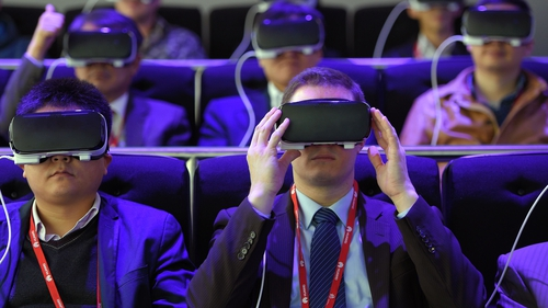 New virtual reality headsets unveiled at World Mobile Congress in Barcelona