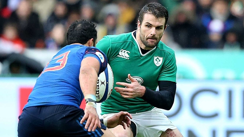 Jared Payne is in a fitness battle to make Saturday's clash against England