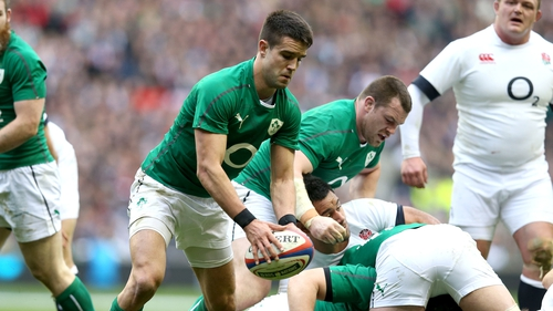 Conor Murray in action against England in 2014