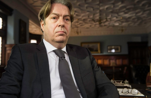 Roger Allam - Morse-like gloom and weighty hesitancy as The Truth Commissioner.