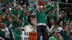 VIDEO: Ireland fans sweat over flooded campsite