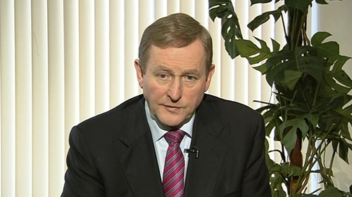 Enda Kenny made the comments on arrival at a summit of EU leaders in Brussels