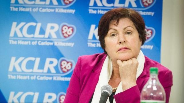 Ann Phelan stormed out of a debate on KCLR radio last night
