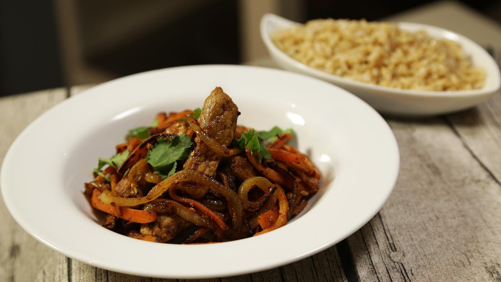 Spicy Pork & Carrot Stir Fry: Operation Trans