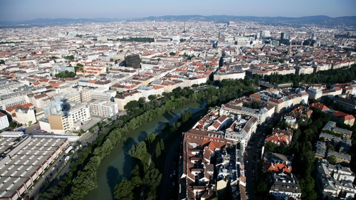 Austria's capital Vienna has 1.7 million inhabitants who benefit from its cafe culture and museums, theatres and operas