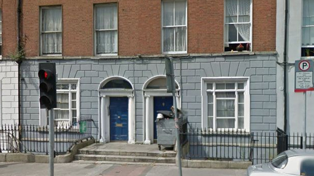 Four families have been told they must vacate the property on Mountjoy St by midnight tonight