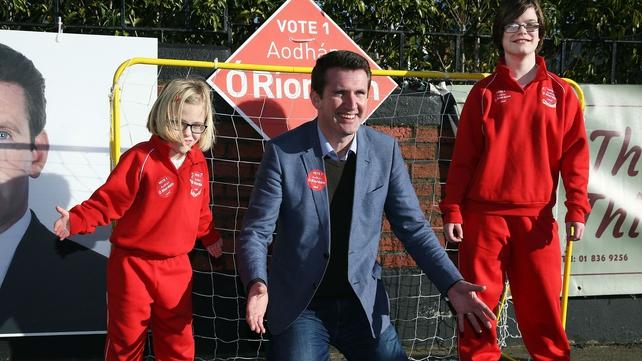 Labour's Aodhán Ó Ríordáin is still hoping to save a seat for his party