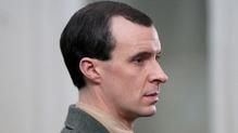 Tom Vaughan-Lawlor plays Padraig Pearse in Trial of the Century