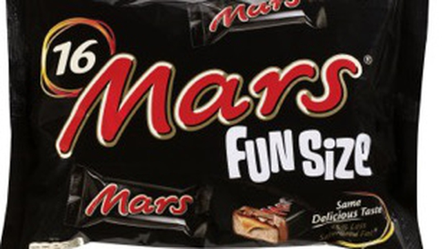 Products involved include certain packages of Celebrations, Mars Funsize, Milky Way Funsize, and funsize mix variety packs