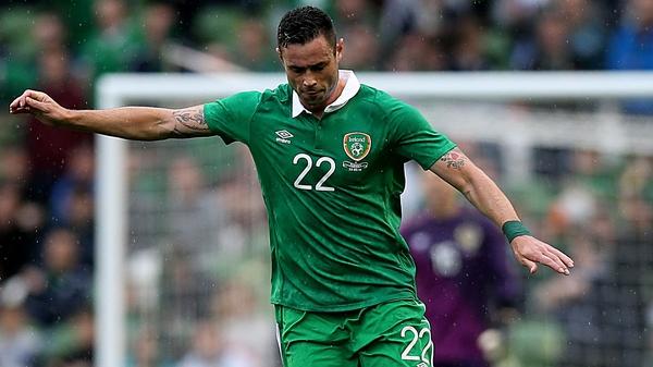 Damien Delaney has nine Ireland caps