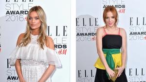 Laura Whitmore and Angela Scanlon stun at Elle Style Awards