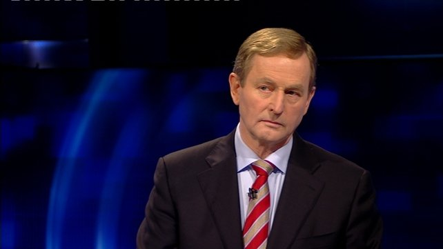 A pollindicates first preference support for Enda Kenny's Fine Gael is at 24.8%